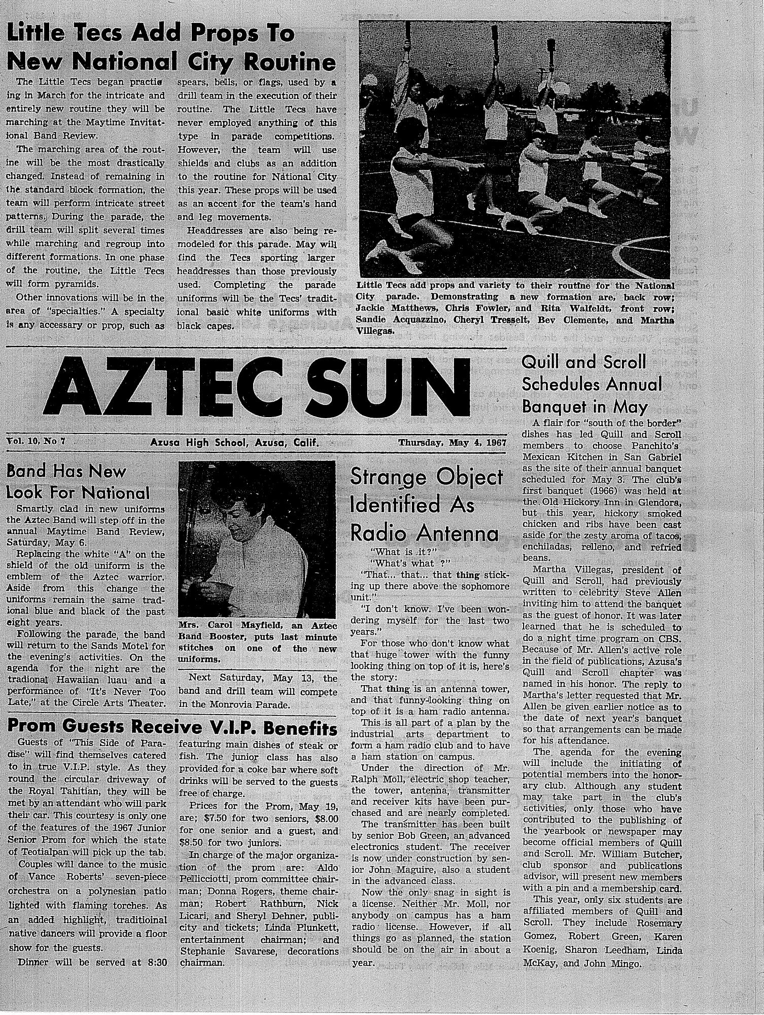 05-04-67 Aztec Sun